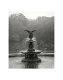 Bethesda Fountain Giclée-tryk af Christopher Bliss