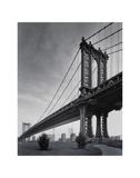 Manhattan Bridge Giclée-tryk af Christopher Bliss