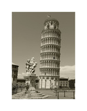 Pisa Tower Giclée-tryk af Christopher Bliss
