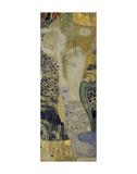 Water Serpents I, ca. 1904-1907 Giclée-tryk af Gustav Klimt