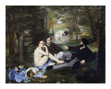 Luncheon on the Grass, 1863 Giclee Print by Édouard Manet