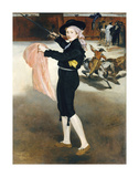 Mlle Victorine Meurent in the Costume of an Espada, 1862 Giclee Print by Édouard Manet