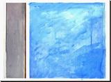 Beach III Stretched Canvas Print by Curt Bradshaw