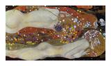 Gustav Klimt - Water Serpents II, 1907 - Giclee Baskı