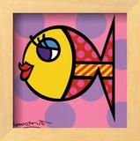 Dittie Fish Prints by Romero Britto