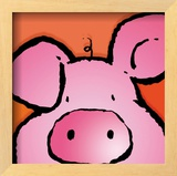 Pig Posters by Jean Paul