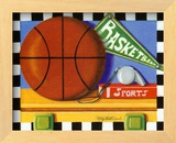 Basketball Posters by Kathy Middlebrook