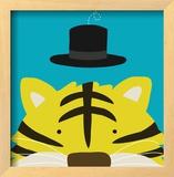 Peek-a-Boo XI, Tiger Prints by Yuko Lau