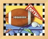 Football Prints by Kathy Middlebrook