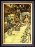 The Mad Tea Party Prints by Arthur Rackham