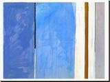 Beach IV Stretched Canvas Print by Curt Bradshaw