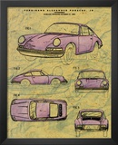 Porsche Patent Posters