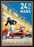 Le Mans 20 et 21 Juin 1959 Print by  Beligond