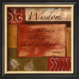 Words to Live By, Wisdom Art by Debbie DeWitt
