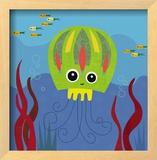 Ocean Friends, Jenny Art by Jenn Ski