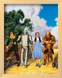 The Wizard of Oz: Glitter Yellow Brick Road Prints