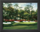 The 13th At Augusta Poster by Larry Dyke