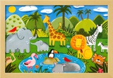 Jungle Fun Posters by Sophie Harding