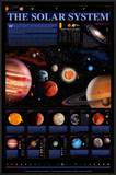 Solar System Chart, The - ©Spaceshots Prints