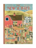 The New Yorker Cover - March 28, 1953 Regular Giclee Print by Ilonka Karasz