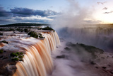Iguazu Water Fall I Fotografiskt tryck av Howard Ruby