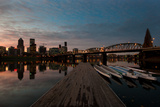 Portland Waterfront II Photographic Print by Erin Berzel