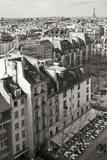 Paris Rooftops V Photographic Print by Rita Crane