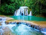 Waterfall II Fotografisk tryk af Howard Ruby