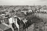 Paris Rooftops VII Photographic Print by Rita Crane