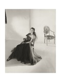 Vogue - March 1947 Regular Photographic Print by Horst P. Horst