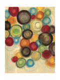 Colorful Whimsy I Giclee Print by Jeni Lee