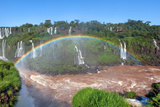 Iguazu Water Fall IIII Fotografiskt tryck av Howard Ruby
