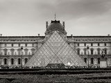 Pyramid at the Louvre II Photographic Print by Rita Crane