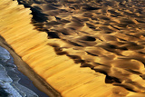 Sand Dunes Meet the Sea Photographic Print by Howard Ruby