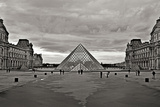Pyramid at the Louvre I Photographic Print by Rita Crane