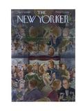 The New Yorker Cover - April 30, 1949 Regular Giclee Print by Constantin Alajalov