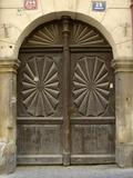 Prague Door VI Photographic Print by Jim Christensen