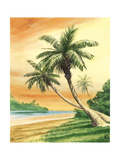 Tropical Dream I Premium Giclee Print by William Duke