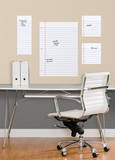 Notebook Paper Dry Erase Peel and Stick Giant Wall Decals Wall Decal