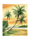 Tropical Dream II Premium Giclee Print by William Duke