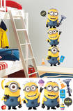 Despicable Me 2 Minions Giant Peel and Stick Giant Wall Decals Kalkomania ścienna