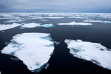 Floating Patches of Sea Ice Photographic Print by Howard Ruby