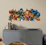 Skylander Giants Burst Peel and Stick Wall Decals Wall Decal