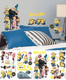 Despicable Me 2 Peel and Stick Wall Decals Kalkomania ścienna