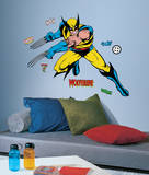 Marvel Classic Wolverine Peel and Stick Giant Wall Decals Autocollant mural