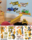Construction Trucks Peel and Stick Wall Decals Wall Decal