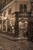 Paris Bistro I Photographic Print by Rita Crane