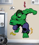 Marvel Classic Hulk Peel and Stick Giant Wall Decals Wall Decal