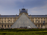 Pyramid at the Louvre IV Photographic Print by Rita Crane