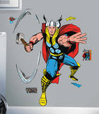 Marvel Classic Thor Peel and Stick Giant Wall Decals Muursticker